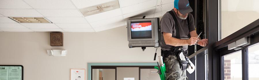 increase safety window film installation