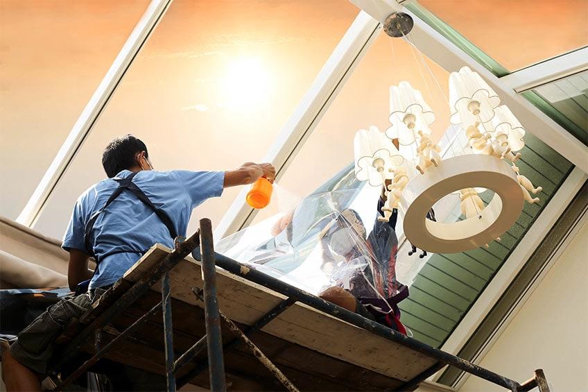 window film installation