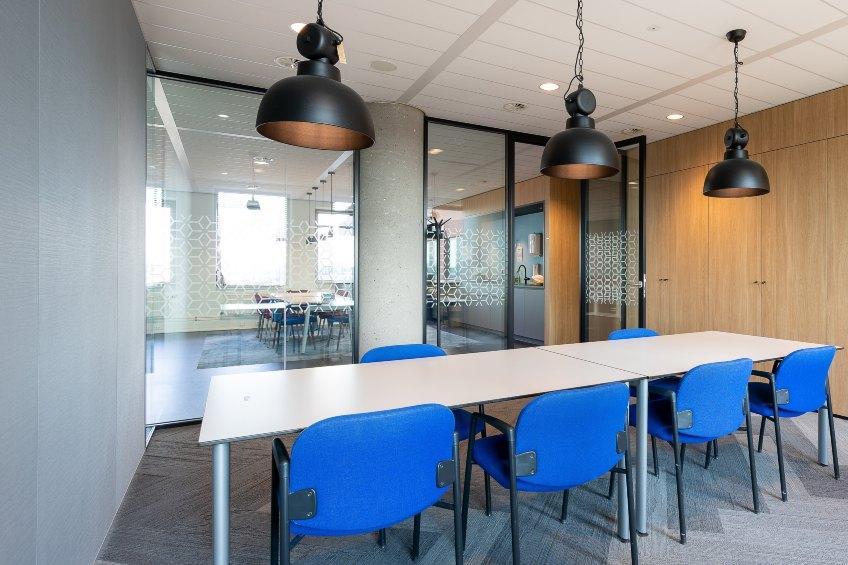meeting room interior modern office glass window film